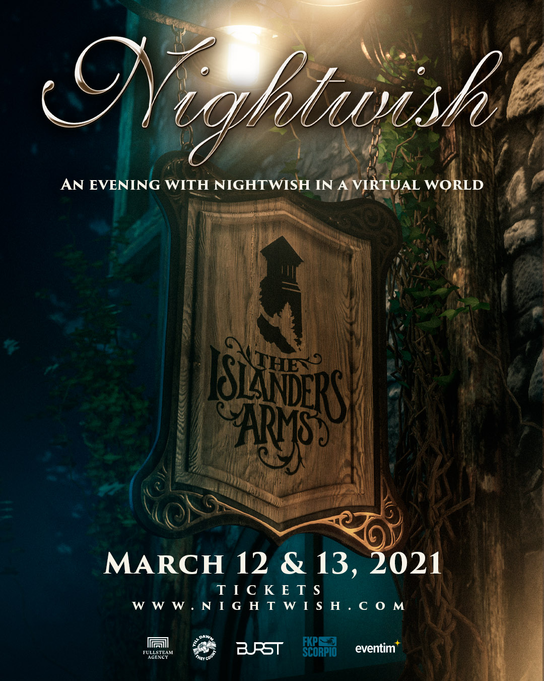 An Evening With Nightwish In A Virtual World Social Media Poster