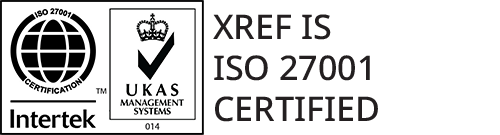ISO 27001 Certified Intertek logo with transparent background