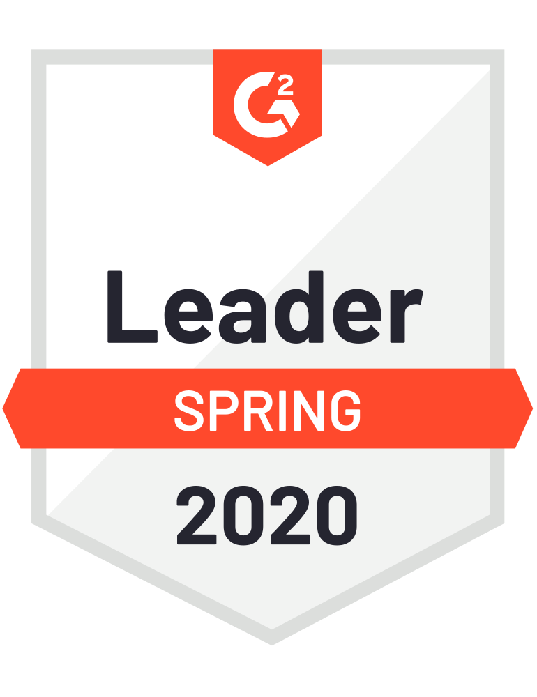 G2 Spring badge Leader 2020