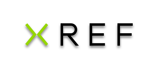 Xref logo with transparent background