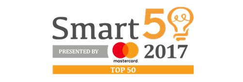 Smart 50 2017 top 50 logo