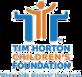 Tim Horton logo, blue and orange