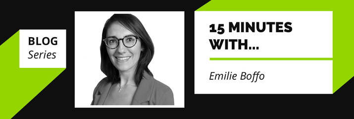 15 minutes with… Emilie Boffo