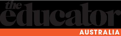 The educator Australia logo, black text on white