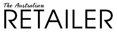 The Australian Retailer, black text on white