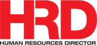 Human Resources Director logo, red and black text on white
