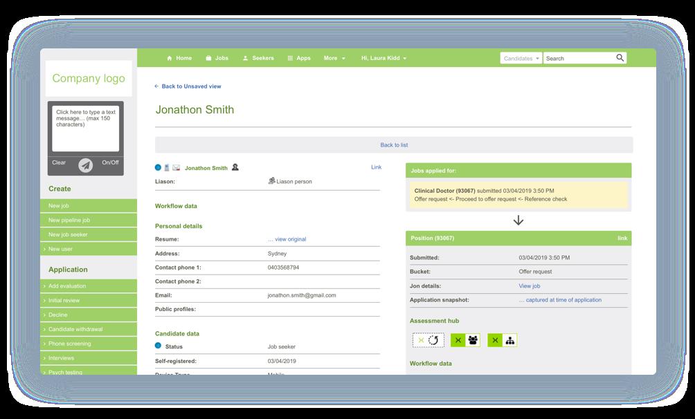 Monitor progress in Snaphire integration