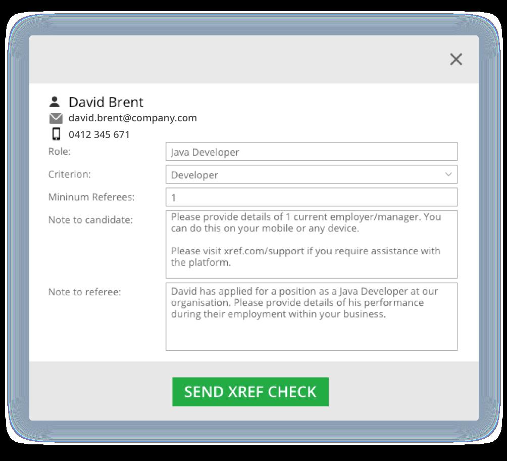 Send Xref request in MRP integration