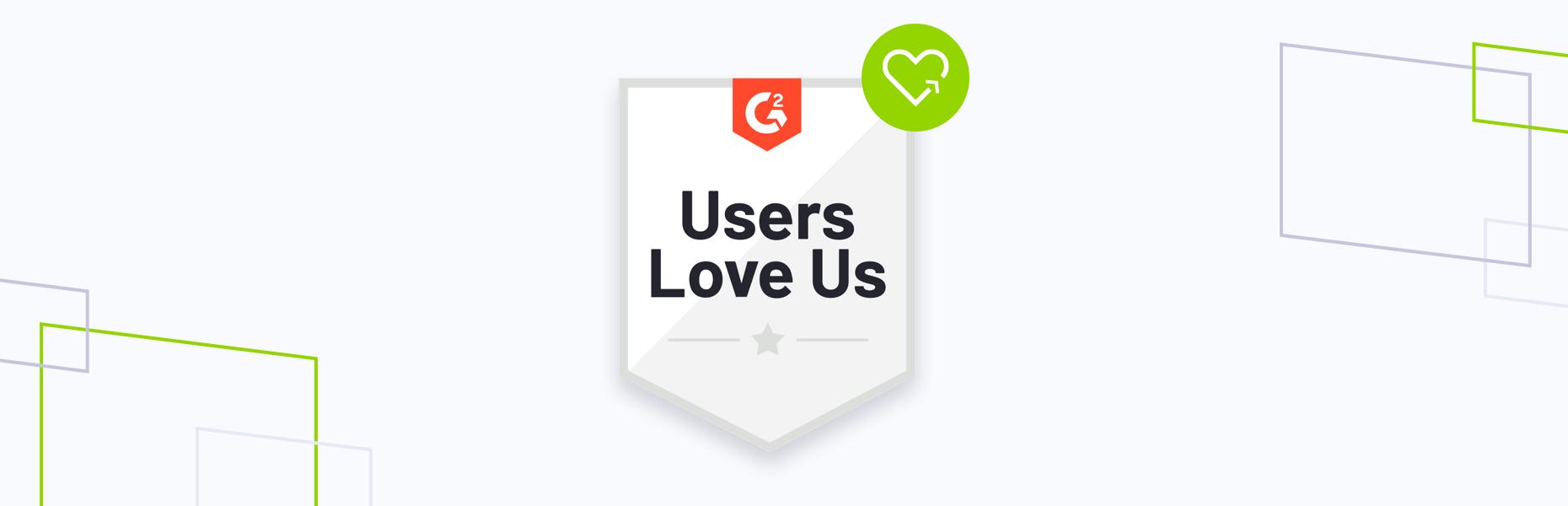 G2 fall badge, users love us