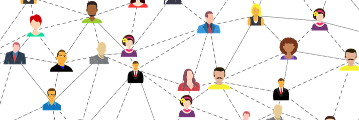 Network of people icons