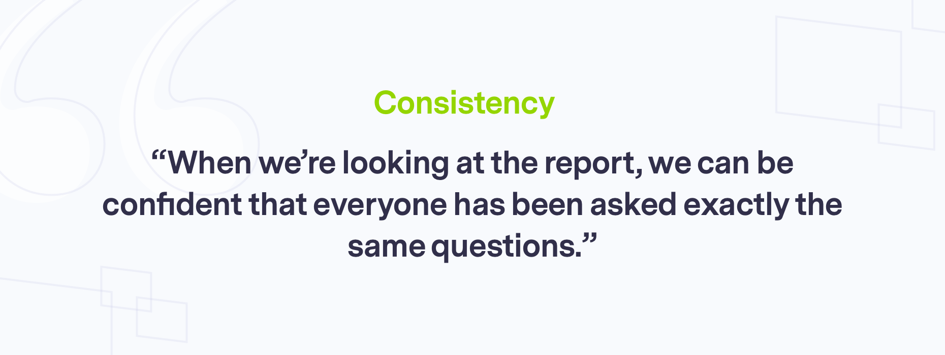Branded quote on consistency
