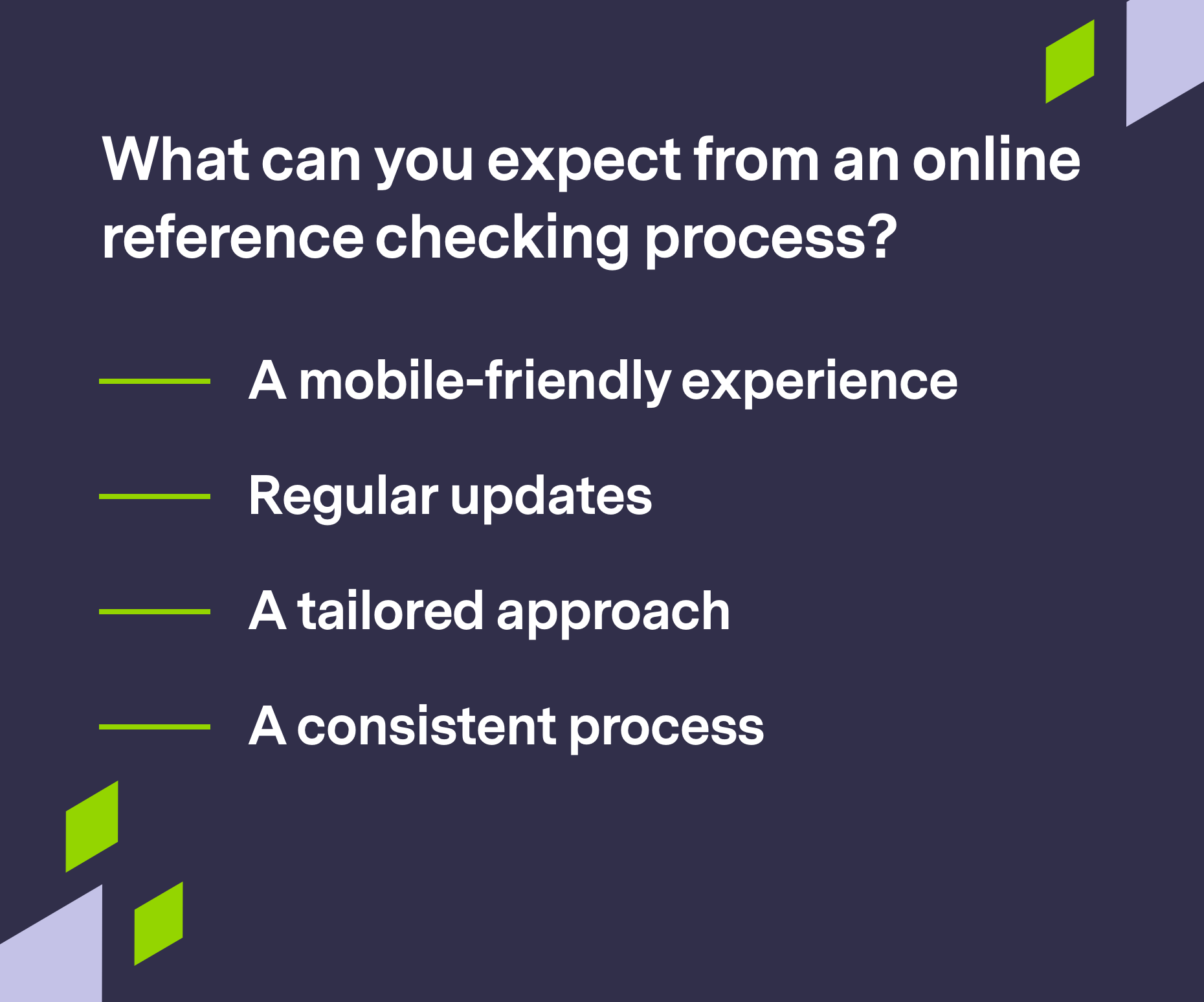 Branded graphics for reference checking process