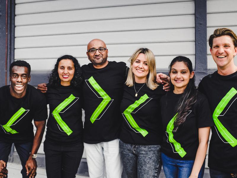 Diverse photo of Xref team members