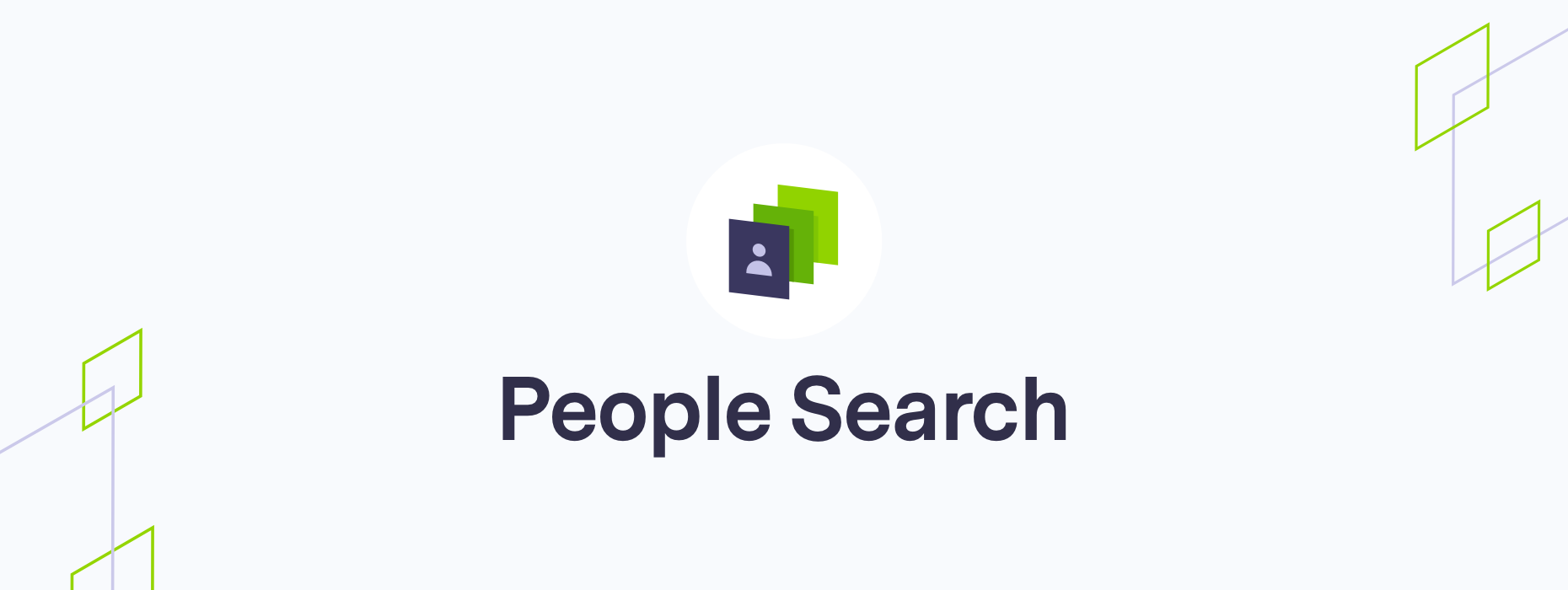 People search function
