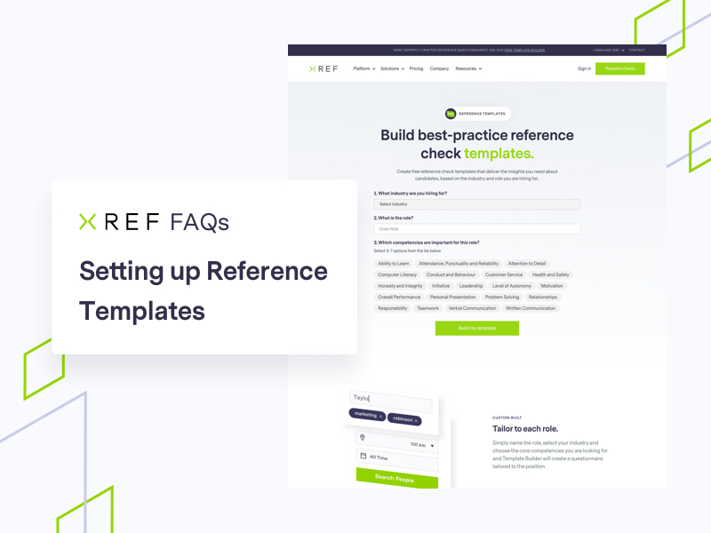 reference templates with Xref branding