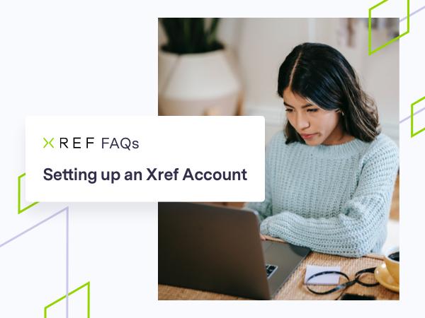 FAQ sur la création d'un compte Xref