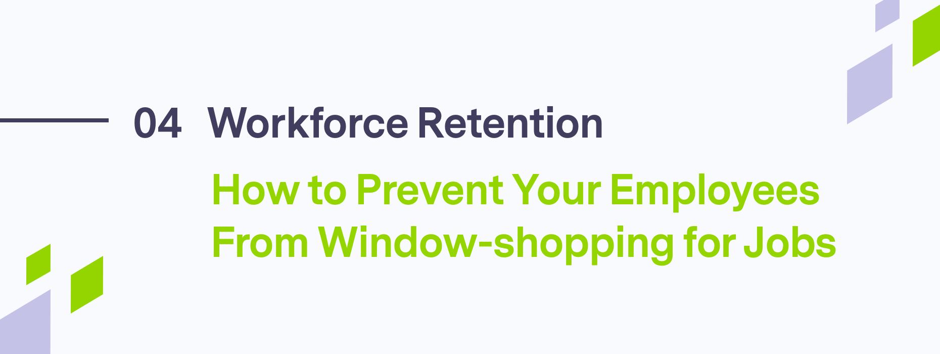 Blog header on Workforce Retention