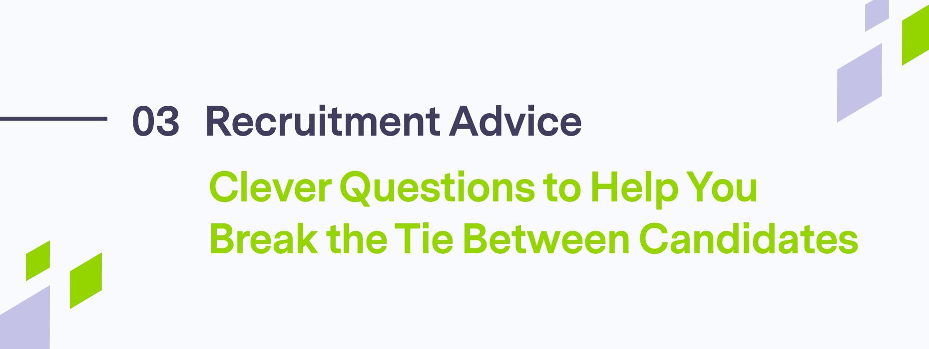 Blog header on Recruitment Advice