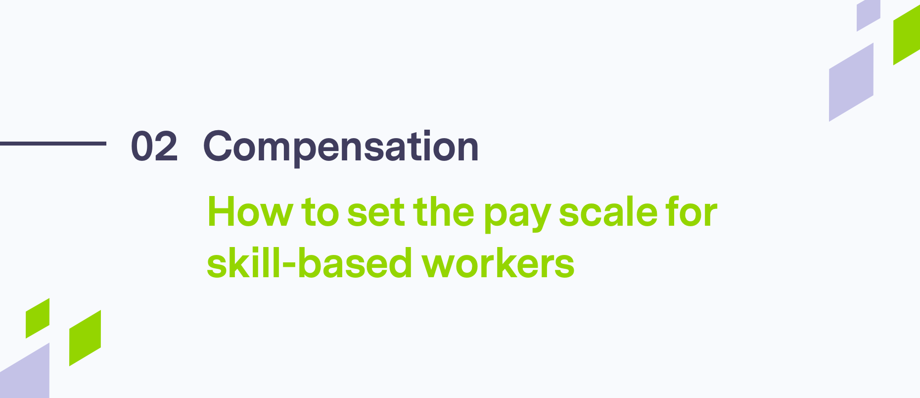 Text on pay scale