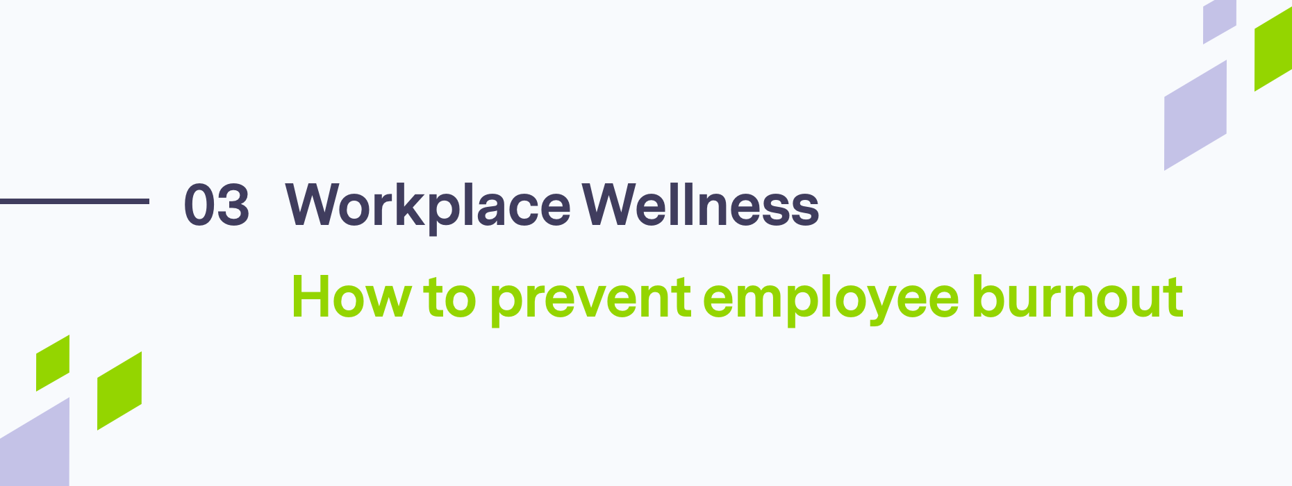 Text on employee burnout