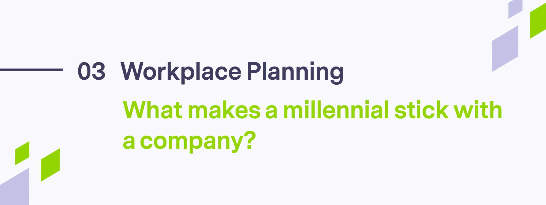 Workplace planning