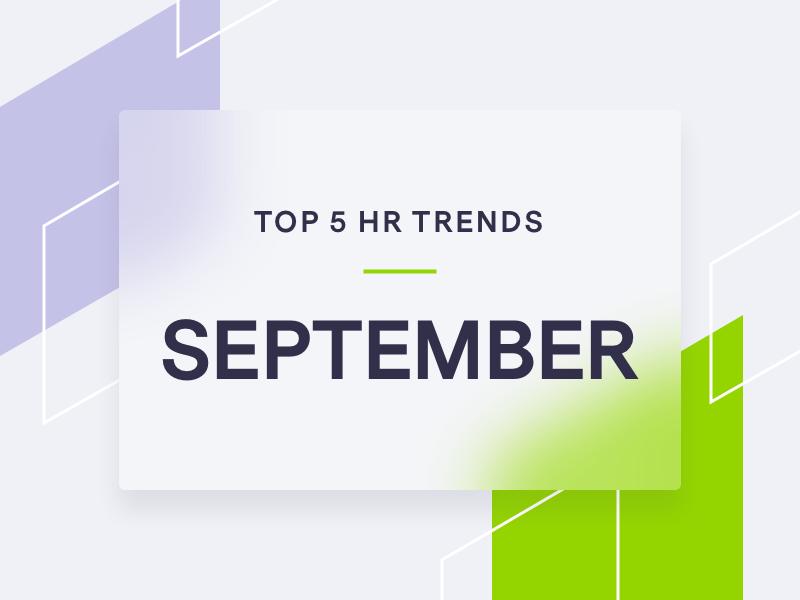 Image of trending HR topics