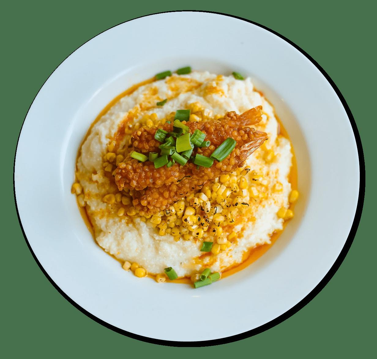 Fried Shrimp and Grits Image