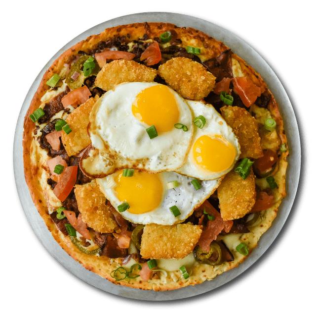 Breakfast Pizza Image