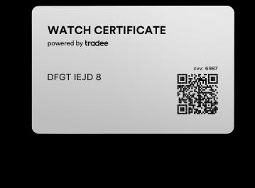 Watch Certificate™ Steel