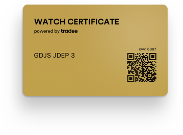 Watch Certificate™ Gold