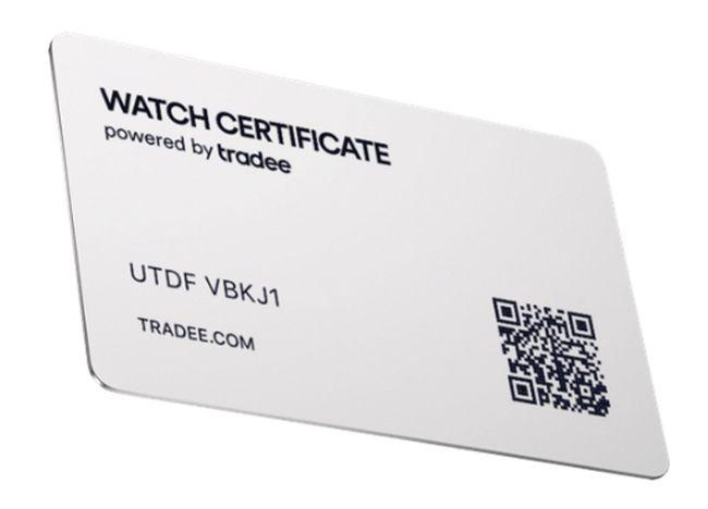 Watch Certificate Steel