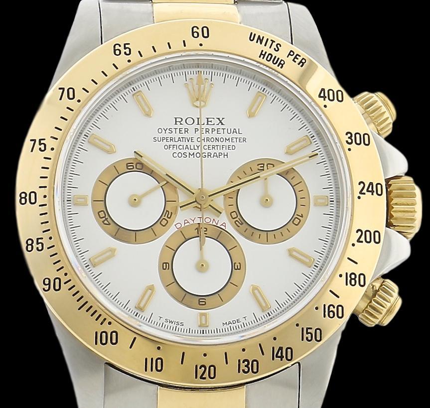 Rolex Dayton 16523 cadran blanc
