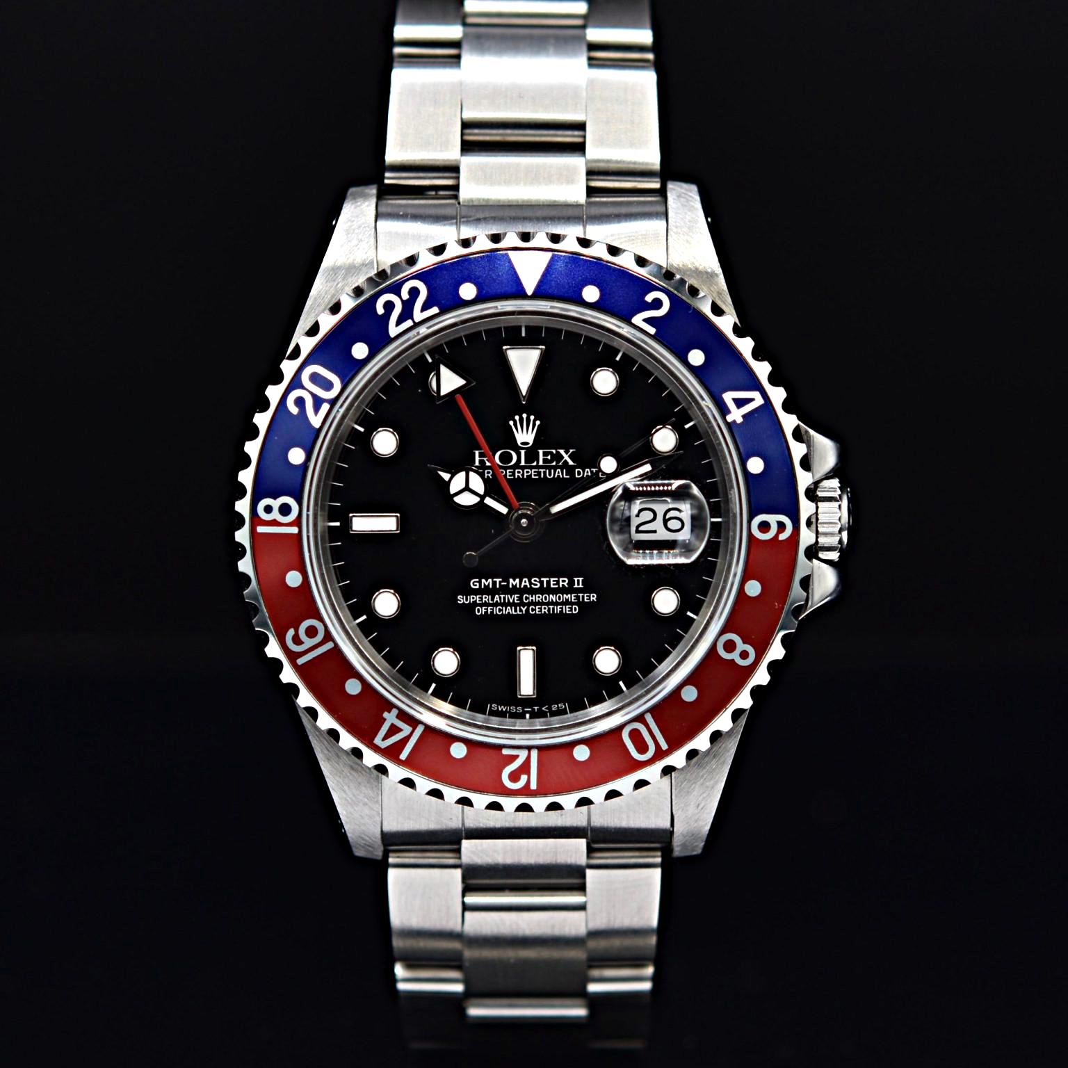 Photo de la Rolex GMT-Master 2
