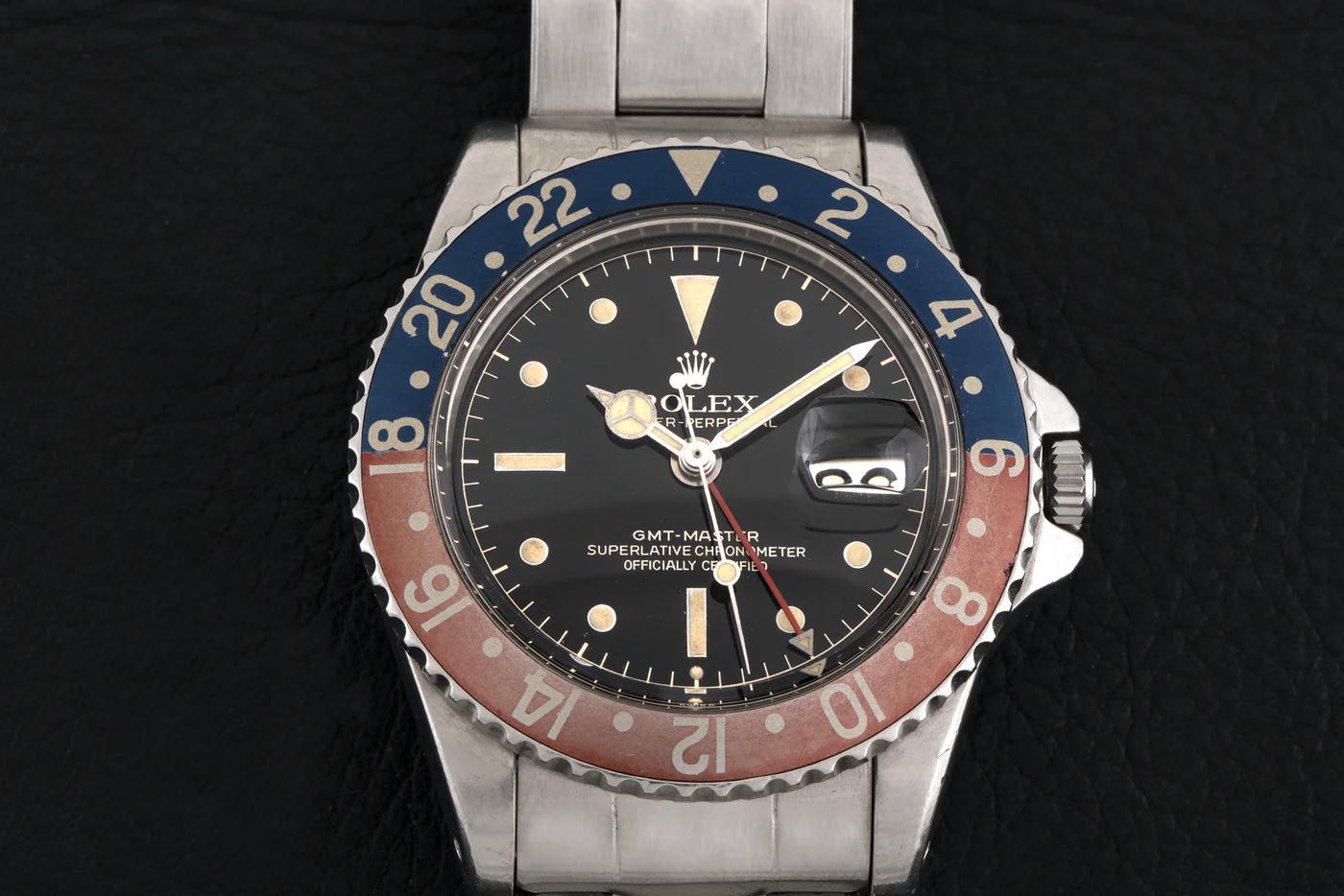 Photo d'une Rolex GMT-Master 16750