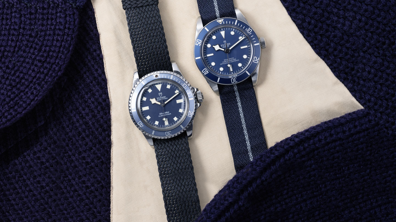 Tudor 7924 Navy Blue et Tudor Black Bay 58