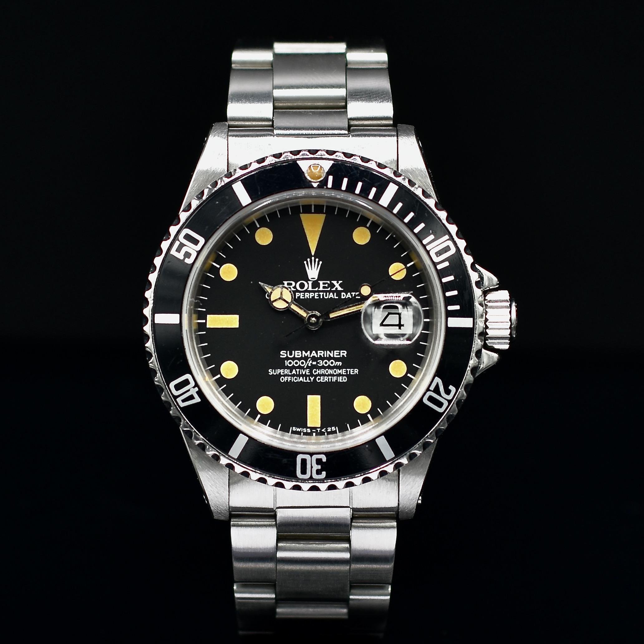 Rolex Submariner de face