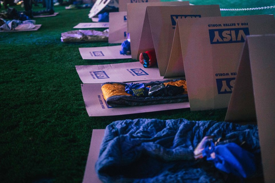 CEOSleepout-beds