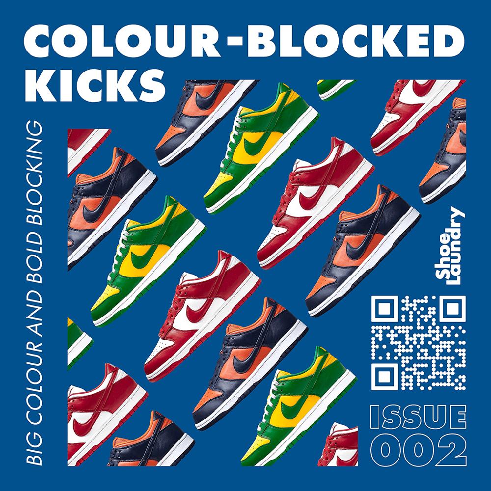 Top Colour-Blocked Kicks