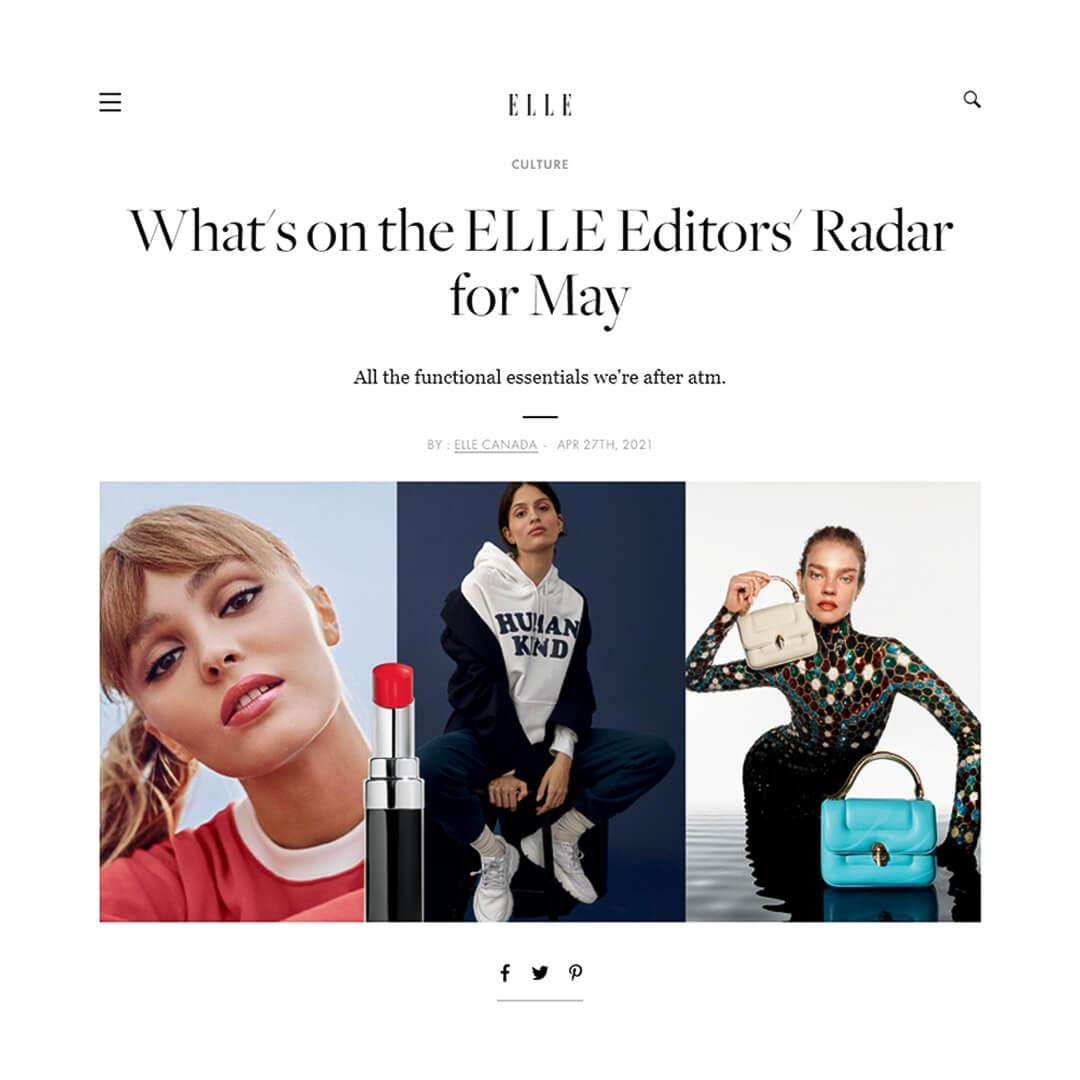 Elle Canada Feature