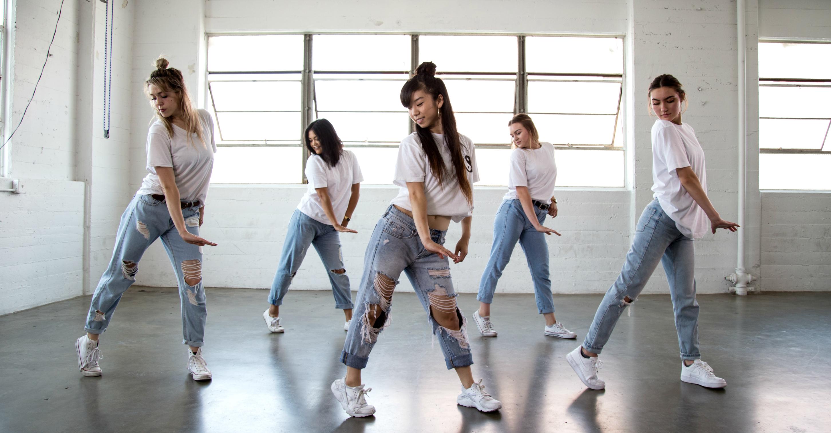 Sorah Yang executing dance choreography