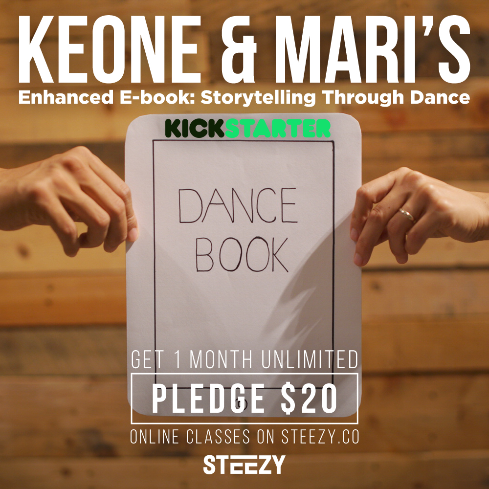 keone & mari's ebook opens up a new chapter for dance