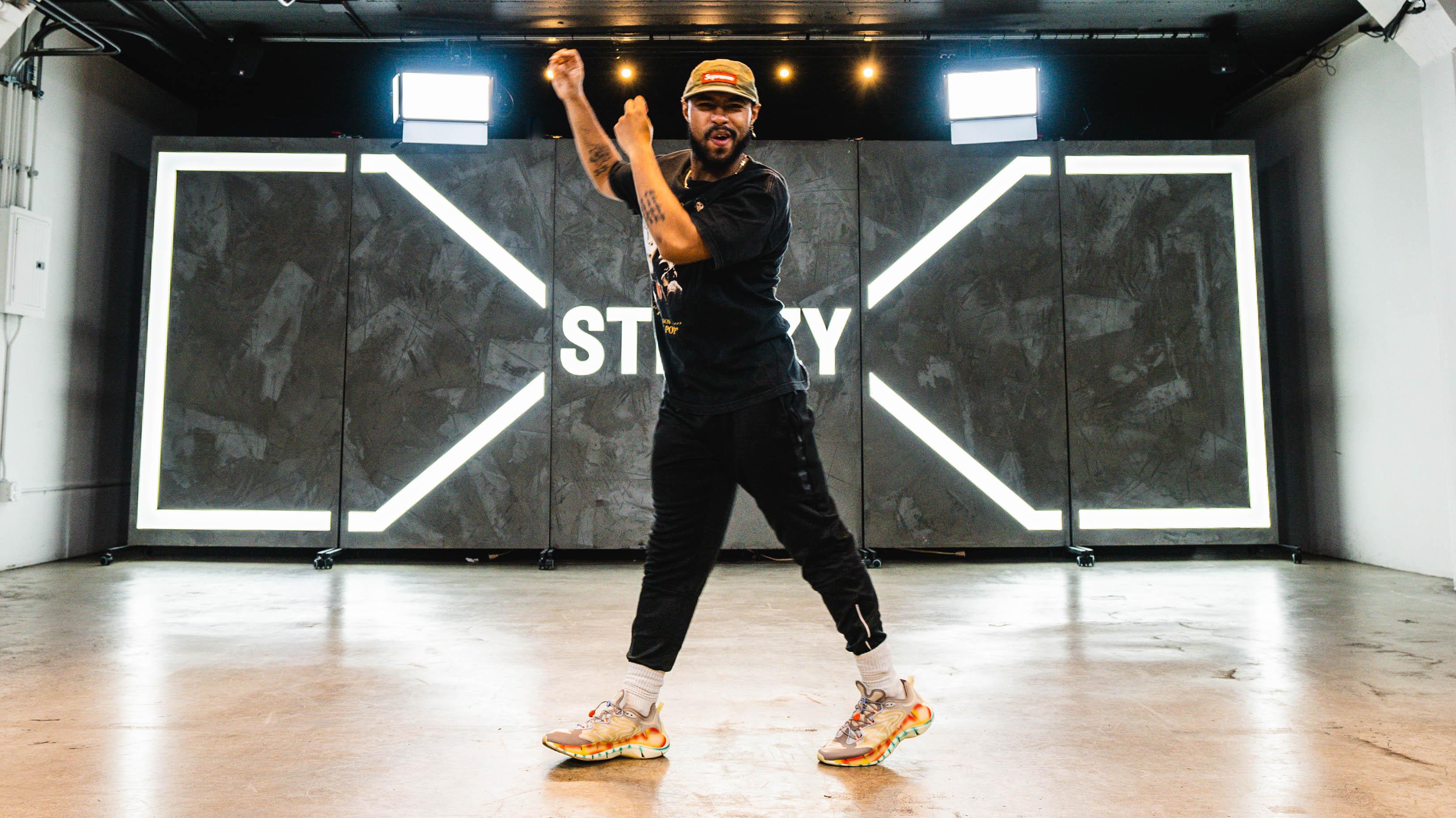Brandon Beastboi Juezan doing the carlton dance move