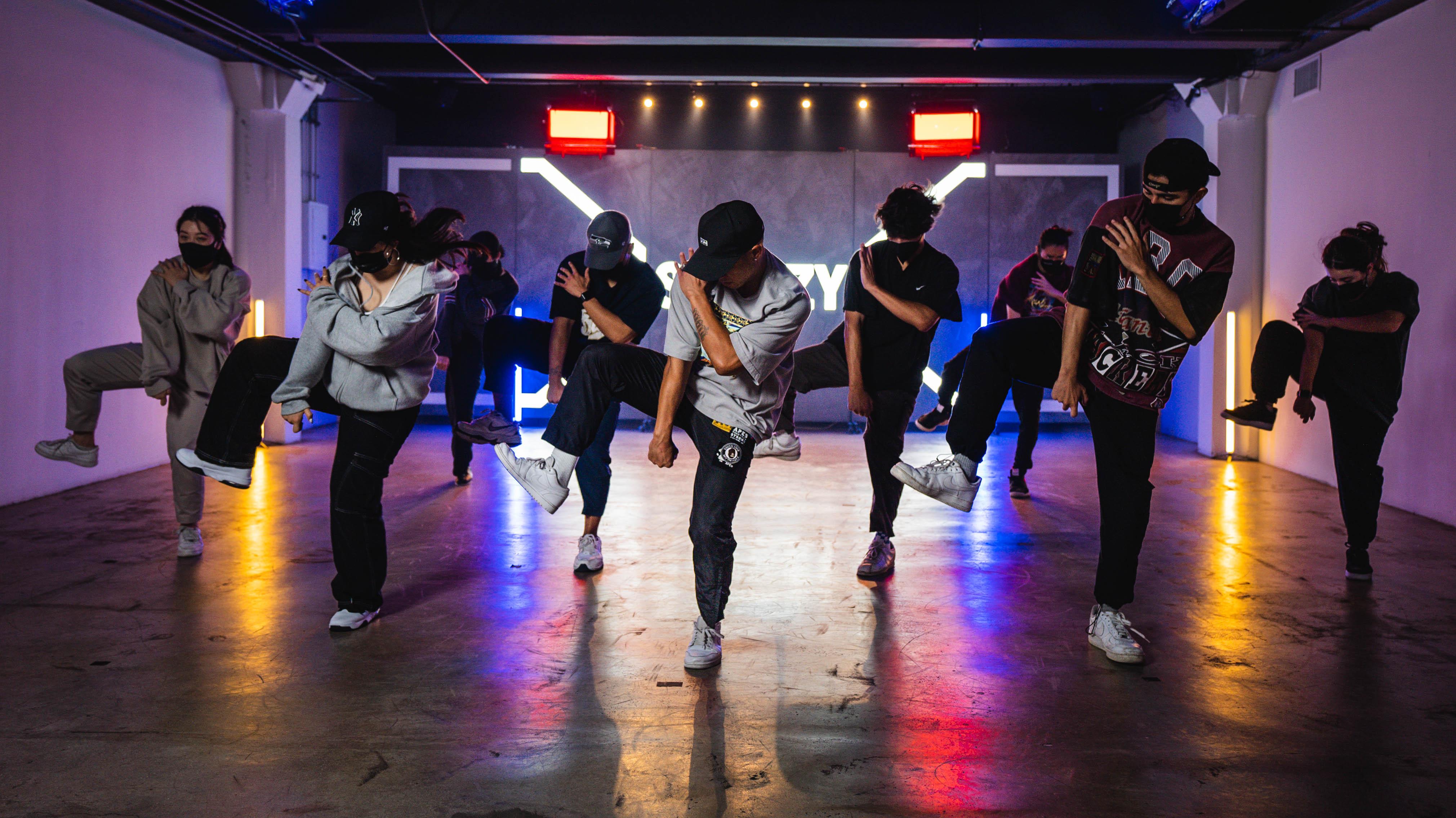 dancers posing