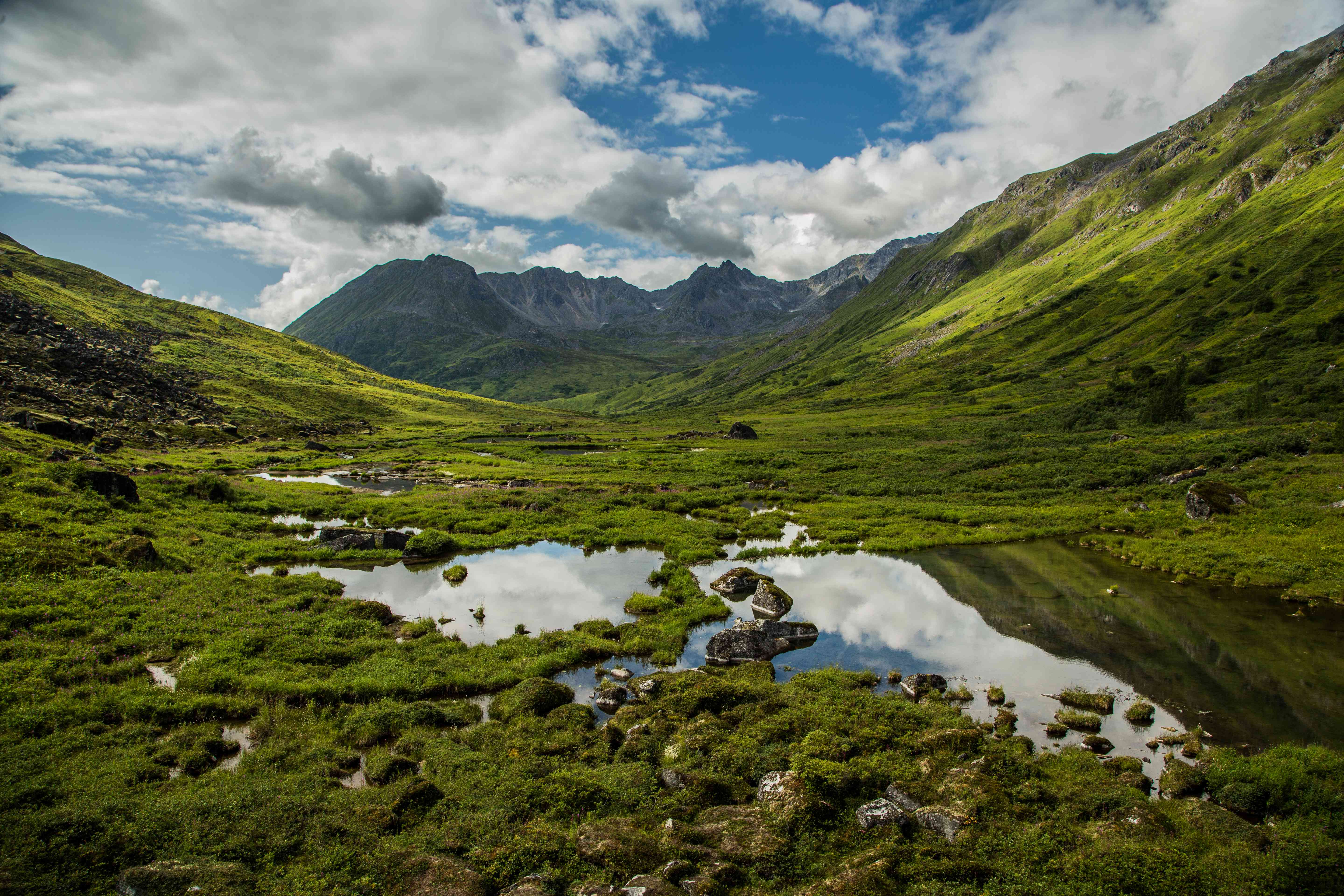 The view from Hatcher Pass