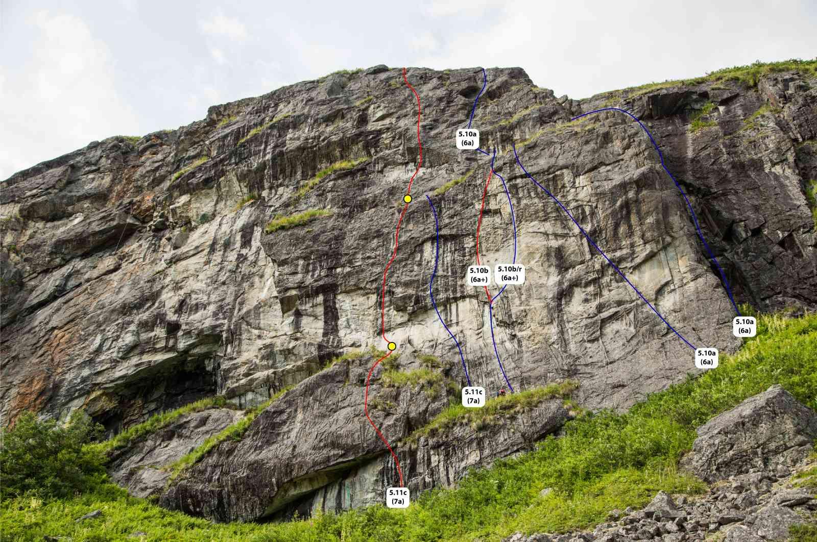 Inferno Wall hatcher pass topo