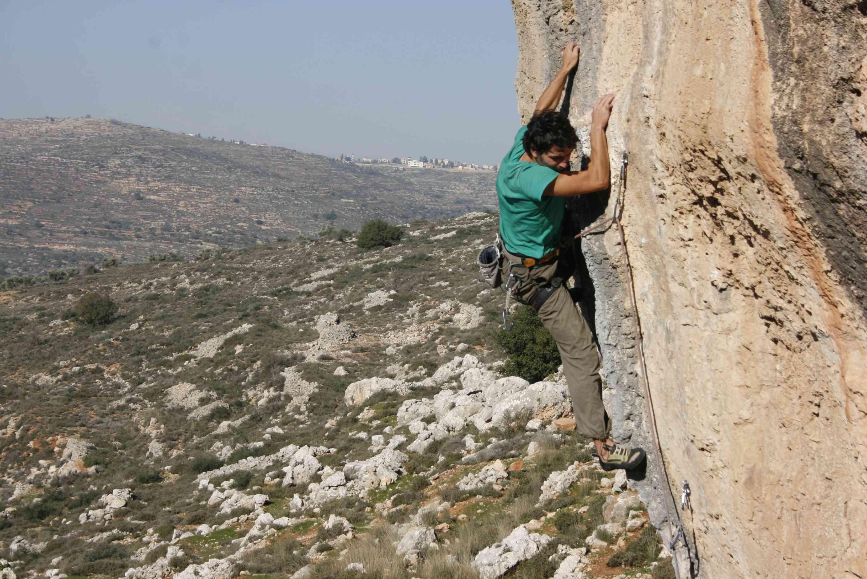 Arrampicata in Palestina