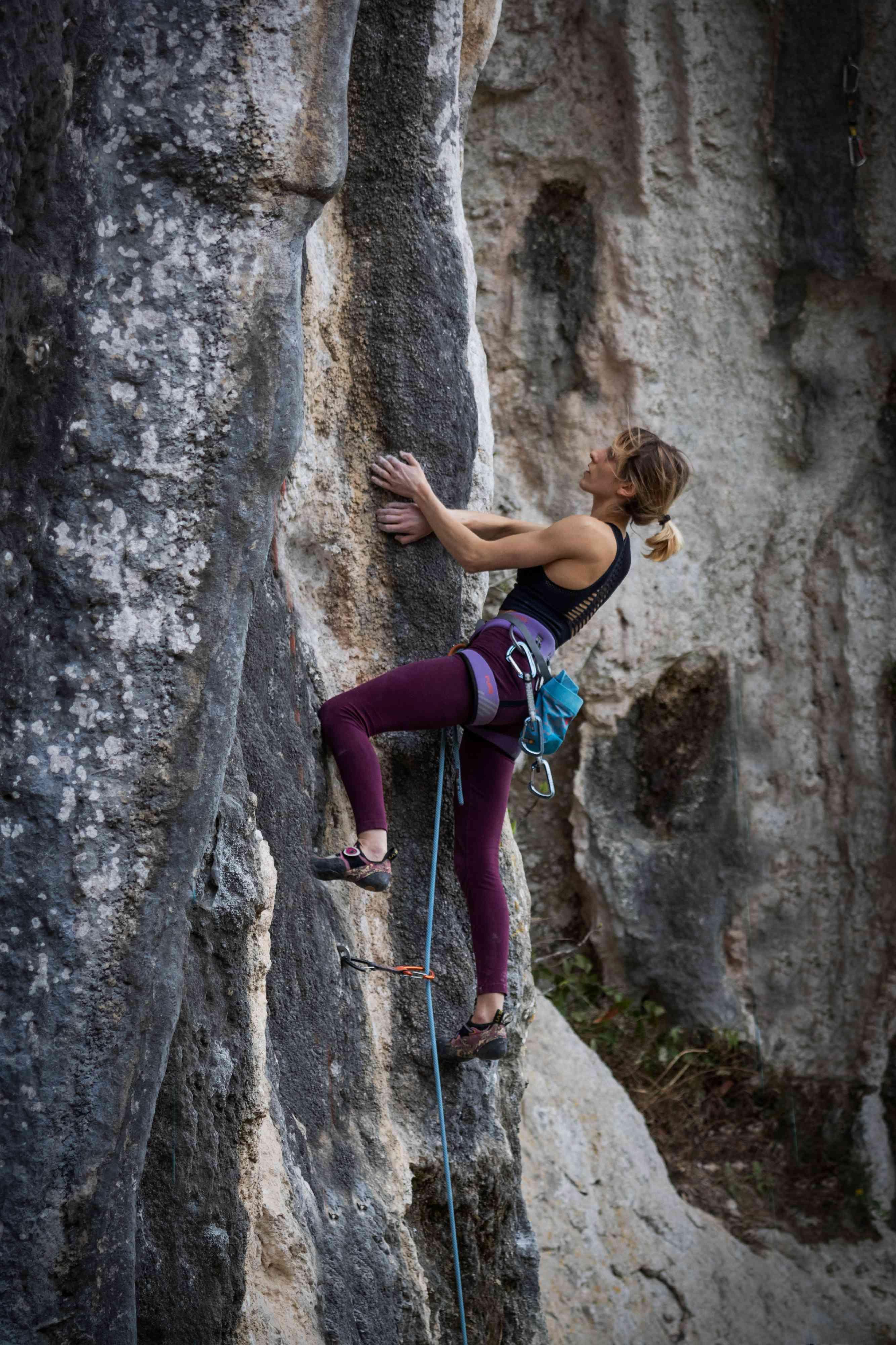 Arrampicata su roccia Camaiore Italia Candalla