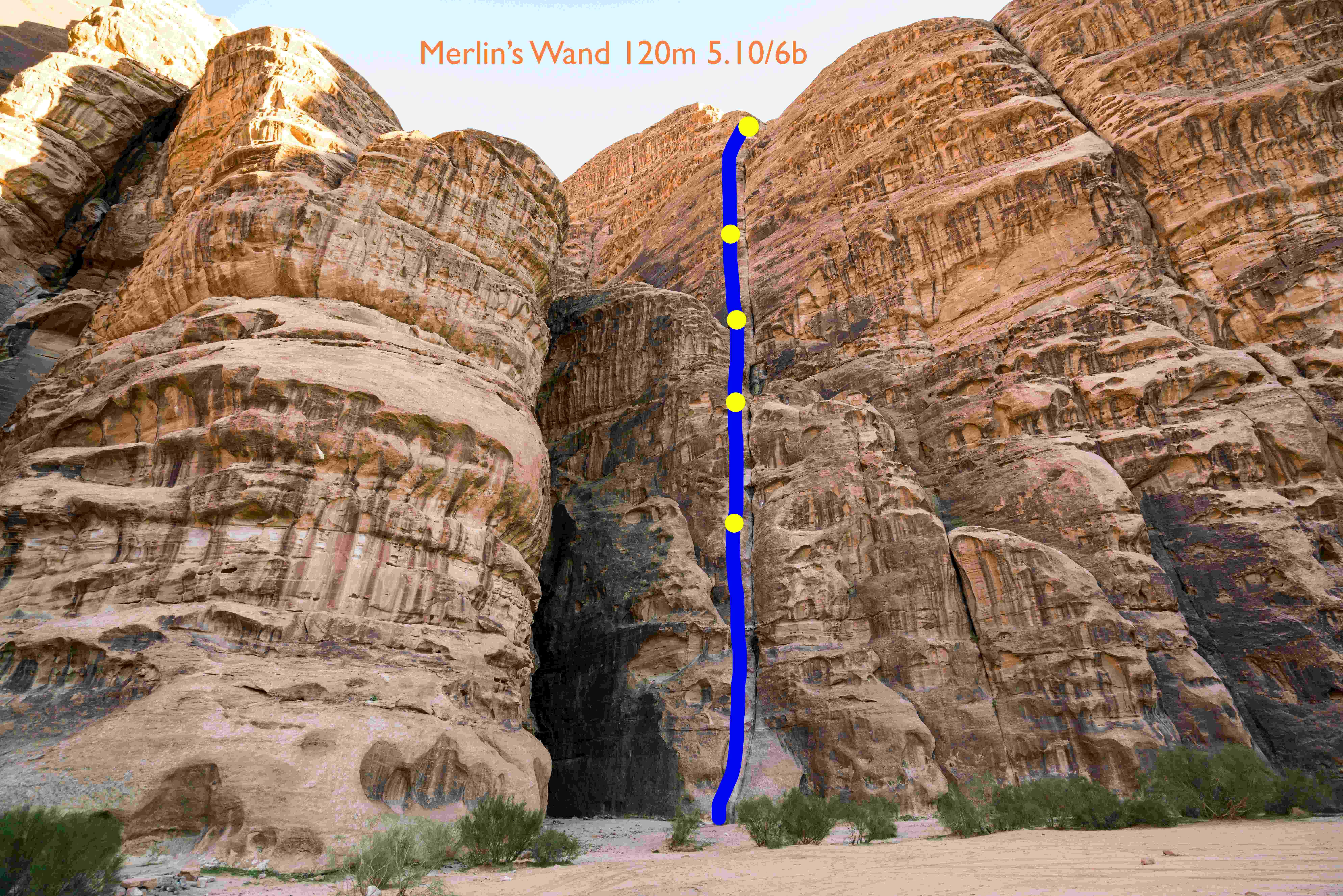 Merlins Wand jordan topo