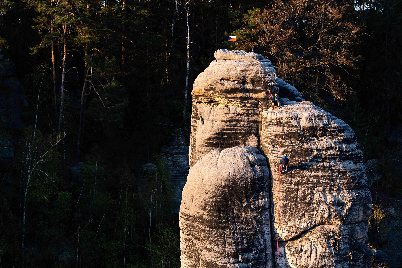 Torre Sanstone nella Repubblica Ceca