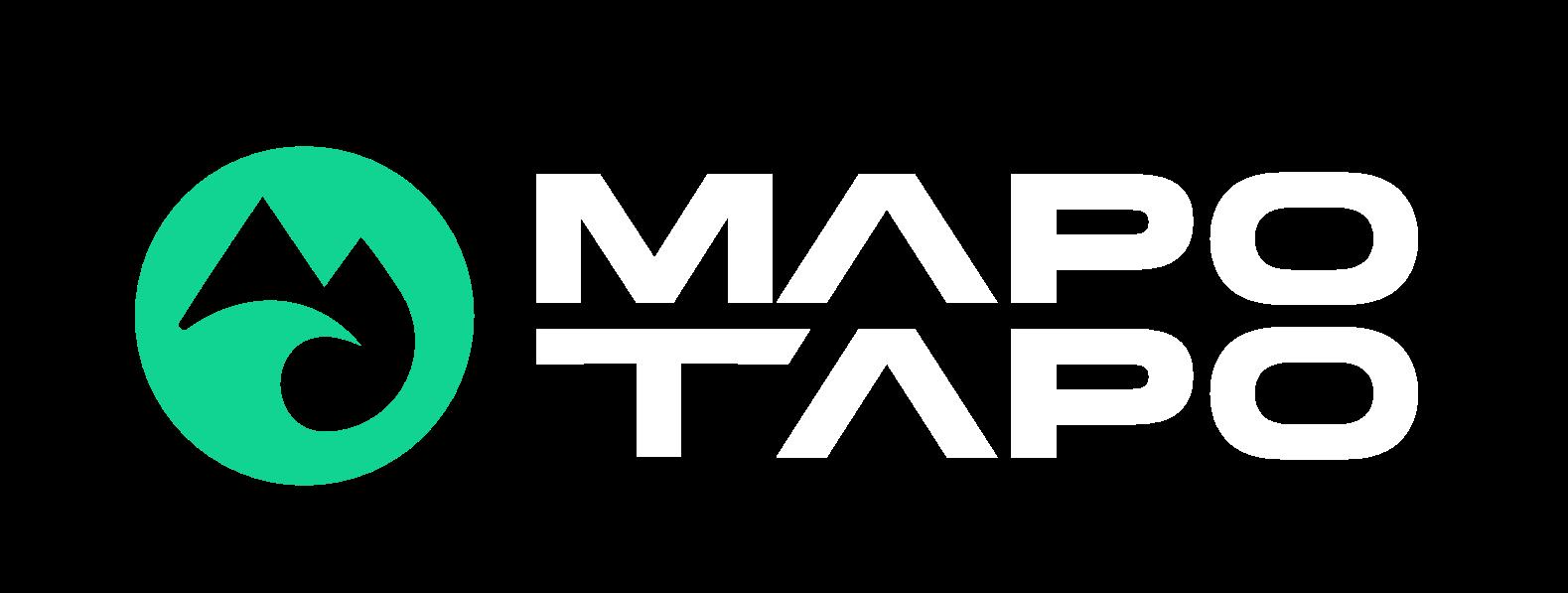 The Mapo tapo logo with the words 'Mapo Tapo'